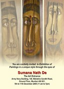 Sumana Nath DE's paintings exhibition in Mumbai