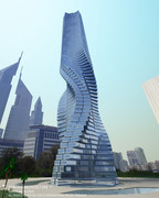 12-33-Worlds-Top-Strangest-Buildings-Rotating-Tower-Dubai3
