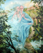 casal azul
