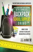 The Streets Don't Love You Back Movement Backpacks with School Supplies Giveaway