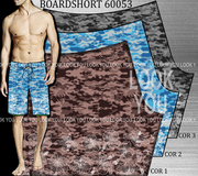 BOARDSHORT 60053 COR 1-2-3 VISUAL