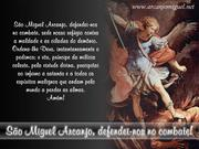 """Meu Cartão de Visita""""Arcanjo Miguel"""""""