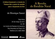 Henrique Samet lançamento do livro Revolta do Batalhão Naval