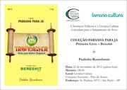 Lançamento do Livro Tropicasher Bereshit com recepção e autógrafos