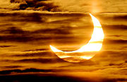 1º eclipse de 2011