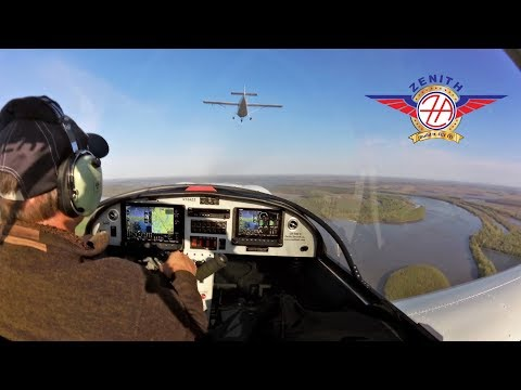 Flying the Zenith CH 650 with the CH 750 Cruzer