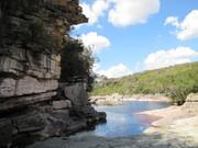 Caminho para a cachoeira das Andorinhas.. Mucugê Chapada Diamantina