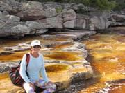 caminho para cachoeira das andorinhas -Mucugê - Chapada Diamantina