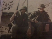 Lt Marion and me on left.