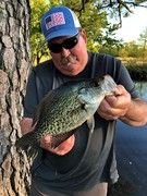 """Solid 14"""" Crappie Was Tops Today........4/16/2019"""