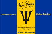 Bajan Supper Club - Saturday 26th November 2011