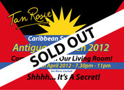 Antiguan Kitchen Saturday 28th April 2012 SOLD OUT