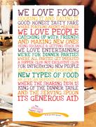 British Menu ~ British Food Fortnight (Gluten Free) Sharing Supper Club