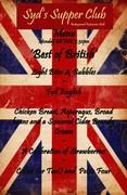 Jubilee - 'Best of British' Dinner - June 4th, Bath