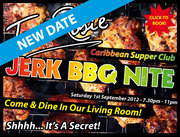 Jerk BBQ Nite Saturday 1st September 2012