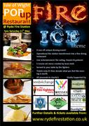 Fire & Ice - Isle of Wight Pop Up Restaurant