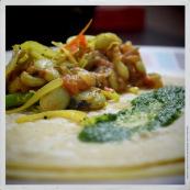 Mauritian Dhall Puri Lunch