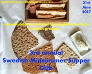 3rd annual Swedish Midsummer supper club