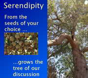 Edublogs Webinar - Serendipity (alternate weeks)