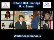 Ontario Bail Hearing - International Time Project - Nov. 26-30, 2012