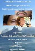 Carlos Barros e Banda do Céu convidam Rita Braz
