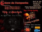 6 Anos da Campanha Reaja ou Será Morta, Reaja ou Será Morto dia 07-05-11 Participe!
