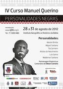 IV Curso Manuel Querino - Personalidades Negras