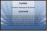 Posse da Coordenadoria Municipal de Promoção da Igualdade Racial