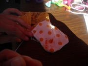 making a medicine pouch