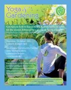 *New Yoga & Gardening Workshop