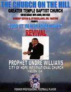 LORD LET ME HEAR FROM HEAVEN REVIVAL 2010