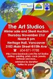 The 15th Annual Art Studios Winter Sale & Silent Auction