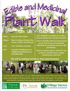 *Edible and Medicinal Plant Walk