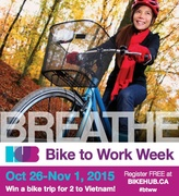 Bike to Work Week   Fall 2015