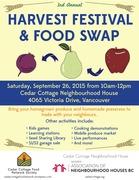 *Harvest Festival & Food Swap