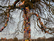 Yarn bombing and wind chimes Workshop!