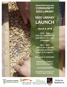Grandview Woodland Seed Library Launch