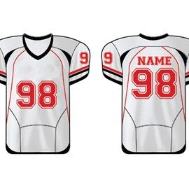 wholesale classy white american football uniform suppliers
