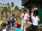 Palm Sunday, and feeding the Children in India.
