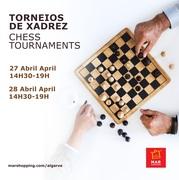 MAR Shopping Algarve desafia adeptos do Xadrez para torneios