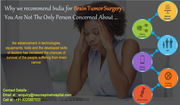 Brain tumor surgery india for international patients