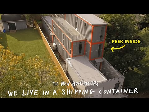 We Live In A Shipping Container | The New Homesmiths | Apartment Therapy
