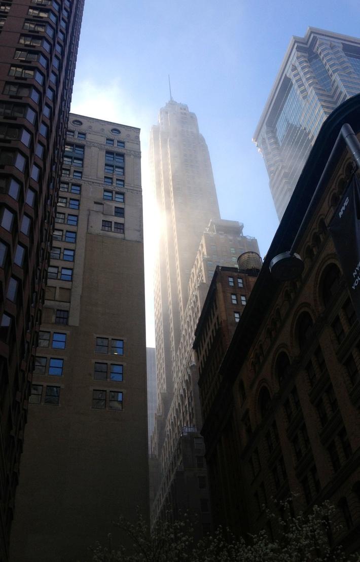 70 Pine Street, Manhattan. Photo by Tom Holmes
