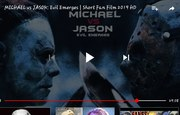 FOR ALL YOU HORROR FANS JASON VS MICHAEL MYERS  THEY BEEFING REAL HARD  https://youtu.be/rXjOA6B9sYA