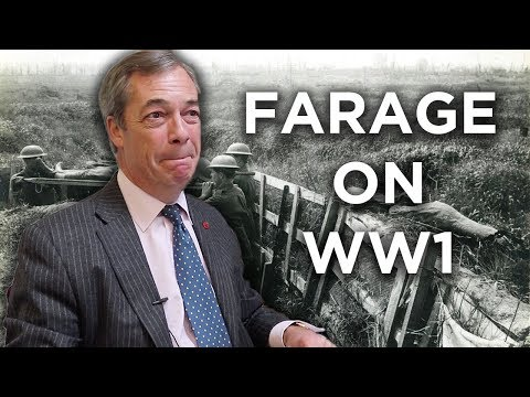 Nigel Farage on WW1 & the left's attempt to rewrite history