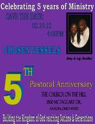 CELEBRATING 5 YEARS OF MINISTRY