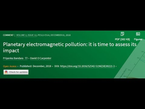 "The Lancet Published the Truth Re: EMF Microwave Wireless Health Effects - ""Of Urgent Concern"""