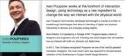 """Ivan Poupyrev - One of the """"World's Greatest Interaction Designers"""" - at TED19 Live Viewing San Francisco"""