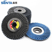 Blue aluminum oxide radial flap disc