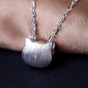 Simply Cat 925 Sterling Silver Necklace - Gift For Cat Lovers.